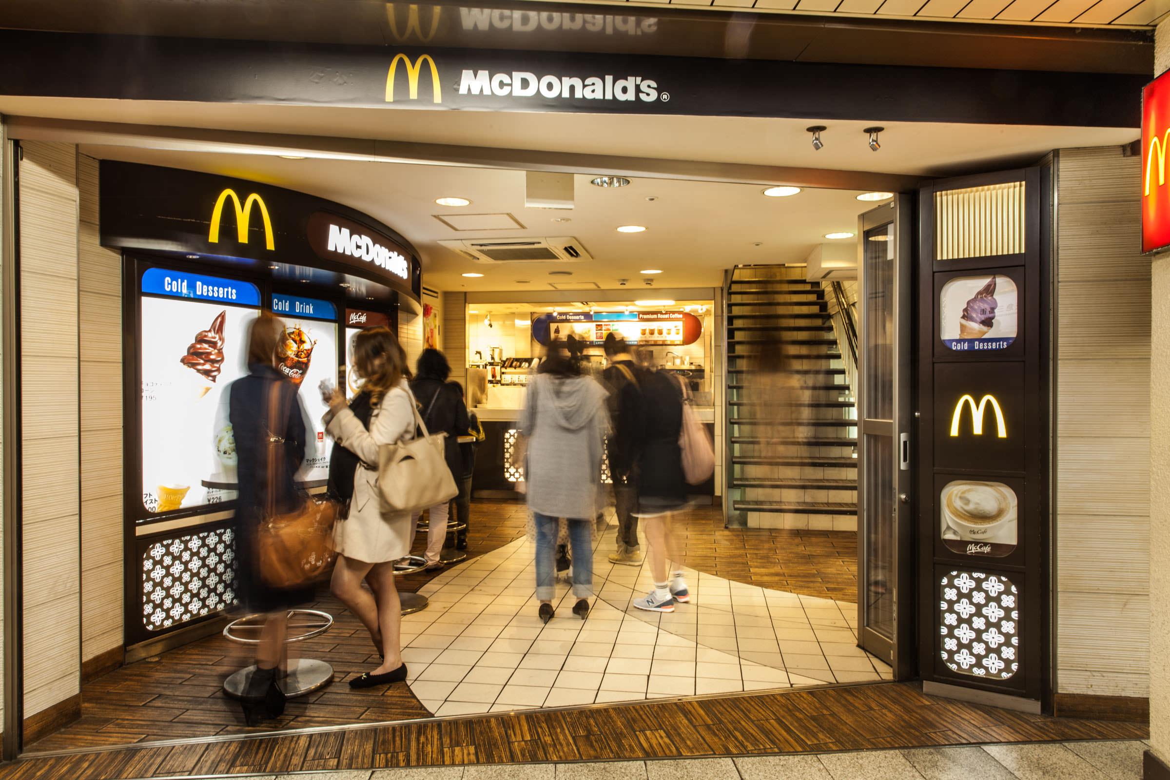マクドナルドCDC新梅田店 画像右2